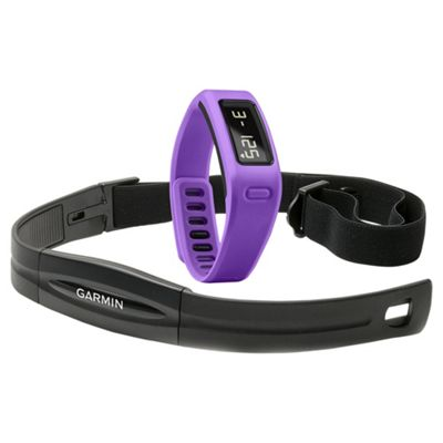 Garmin Vivofit Fitness Tracker with Heart Rate Monitor Band - Purple