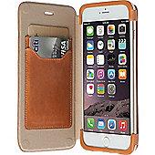 Krusell Kiruna Carrying Case (Flip) for iPhone, Credit Card - Camel