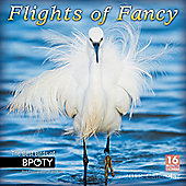 Flights Of Fancy: Bird Photographer Of The Year 2018 Square Wall Calendar 30x30cm
