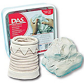 DAS Air Hardening Modelling Clay (White 2kg )