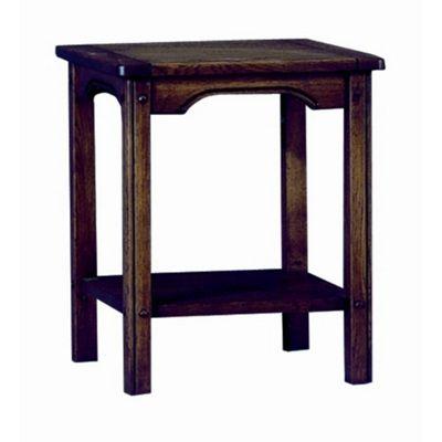 Buy sherry designs legacy lamp table in oak antique dark from sherry designs legacy lamp table in oak antique dark mozeypictures Images