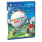 Everybody's Golf 2017 PS4
