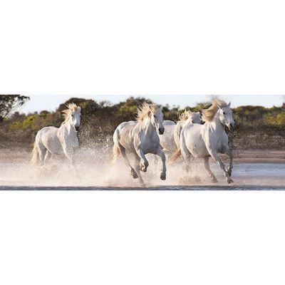 Running Horses - Panoramic - 1000pc Puzzle