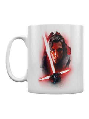 Star Wars The Last Jedi Kylo Ren Brushstroke Boxed 10oz Ceramic Mug