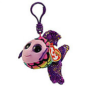 TY Keyclip Beanie Boos Flippy The Fish