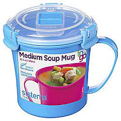 Sistema Soup Mug To Go Blue