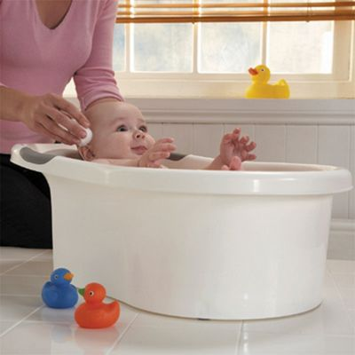 Tippitoes Mini Bath White