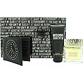 Moschino Forever Gift Set 50ml EDT + 100ml Shower Gel + Wallet For Men