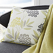 Fusion Karsten Lime 43x43cm Unfilled Cushion Cover