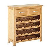 Nordic Oak Wine Cabinet