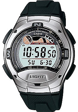 Casio Digital Tide Graph Watch W-753-1AVES