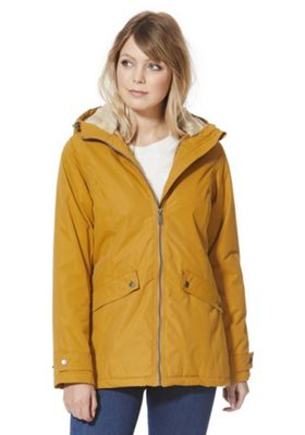 Regatta Brienna Waterproof Hooded Jacket 16 Mustard