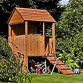 4 x 4 Sutton Wooden Playhouse (4ft x 4ft) - Fast Delivery - Pick A Day