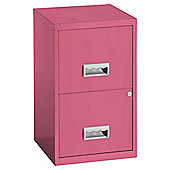 Pierre Henry A4 2 drawer Maxi Filing Cabinet Blush Pink