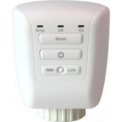 Megaman LightwaveRF 3V Radiator Valve (White)