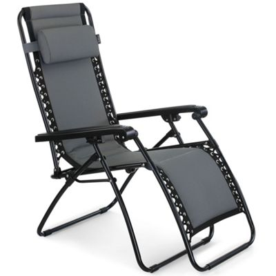 Buy Vonhaus Oxford 600d Padded Zero Gravity Chair From Our Sun