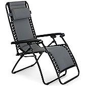VonHaus Padded Textoline Zero Gravity Chair