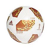 adidas Telstar Fifa World Cup 2018 Glider Football Soccer Ball White/Gold - 3
