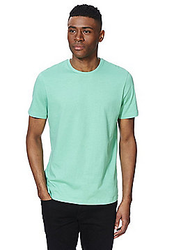 F&F Short Sleeve T-Shirt with As New Technology - Green