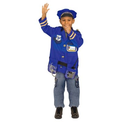 Melissa  Doug Role Play Set Police Officer