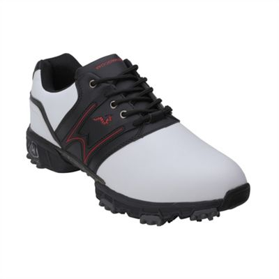 Woodworm Tour Ii Golf Leather Shoes White/Black 9.5