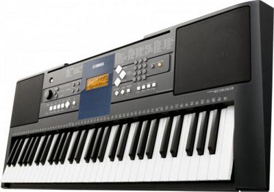 Yamaha PSRE333 Electronic Keyboard 61 full-size touch sensitive keys Black