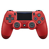 Sony PS4 Official DualShock 4 Controller V2 - Magma Red