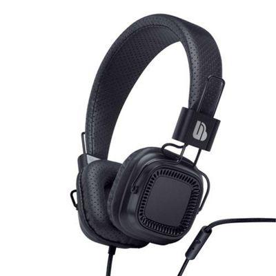 Merkury Urban Beatz VERSE Headphones with in-line Mic - Black