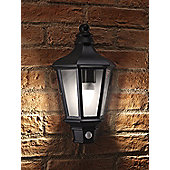 Auraglow LED Low Energy Motion Activated PIR Sensor Outdoor Security Vintage Wall Light - Warm White