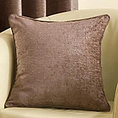 "Ribeiro Chenille Complete Cushion 50cm/20"" - Mink"