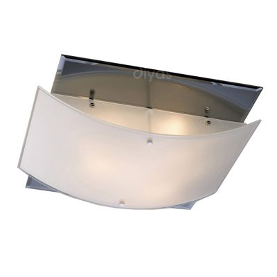 Vito Ceiling 3 Light Polished Chrome/Smoked Mirror