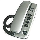 Geemarc 6050EGS Marbella Gondola Style Corded Phone - Silver