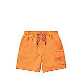 F&F Neon Swim Shorts - Coral