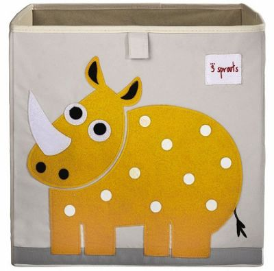 Yellow Rhino Storage Box