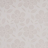 Superfresco Easy Paste the Wall Renee Floral Shimmer White / Mica Wallpaper