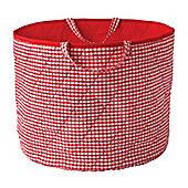 Toy Storage Basket - Red
