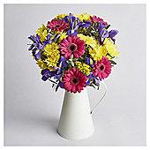 Spring Iris Jug