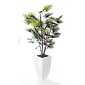 Closer To Nature Artificial 5ft Rhapis Fortunei Palm Tree
