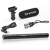 Saramonic SR-TM1 - Super-Cardioid Broadcast XLR Shotgun Condenser Microphone