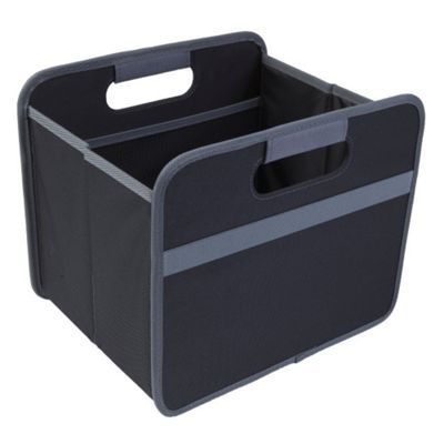 Meori Classic Collection Small Flatbox Foldable Box 15 Litre in Lava Black