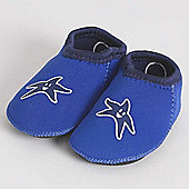 Banz Shore Feet Padders Blue, Shoe Size Small 18-24 Moths