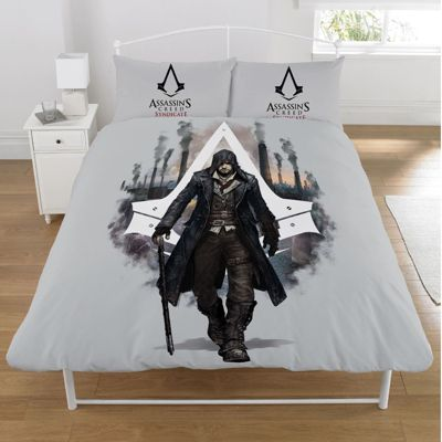 Assassins Creed 'Syndicate' double panel Duvet Cover