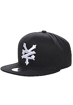 Zoo York Centre Mens Skate Snapback Baseball Cap Hat - Black