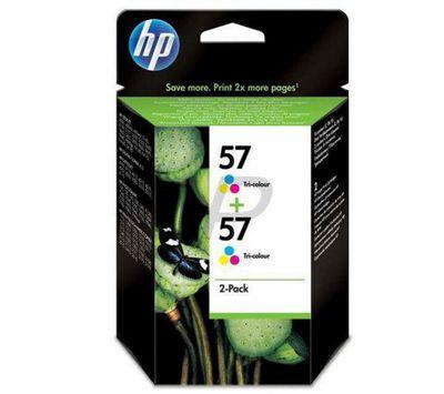 HP 57 2-pack Tri-color Original Printer Ink Cartridges