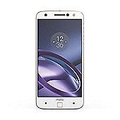 Motorola Moto Z 32GB SIM Free Smartphone - White / Gold
