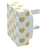 MiTEC Style iPhone 5 2 in 1 Mains Charger Hearts 2A