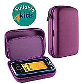 Navitech Purple Premium Travel Hard Carry Case Cover Sleeve For The Vtech DigiGo Kids Tablet
