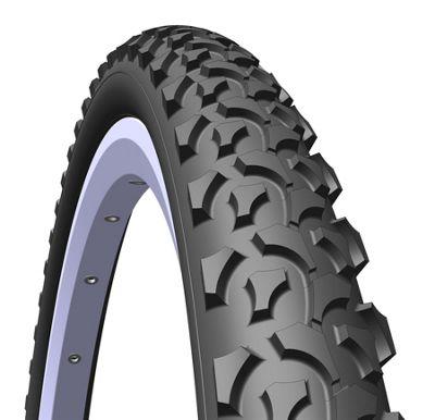 Mitas Rapid MTB & Cross Country Tyre, 24 x 1,75 x 2 (47-507), black