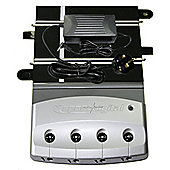 Scalextric Digital 4 Car Powerbase And C7024 P9300 Transformer