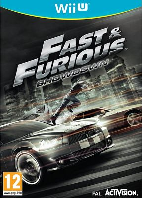 Fast And Furious Showdown Wii U